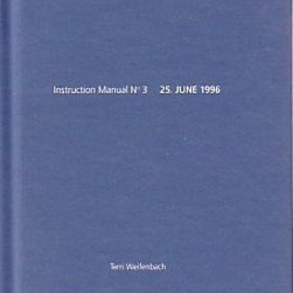 Terri Weifenbach - Instruction Manual No 3 (One Picture Book)