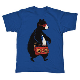 Hip Bear Men Graphic T-Shirt