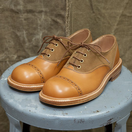 The Old Curiosity Shop x Quilp by Tricker's - TWO TONE OXFORD LOW