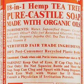 Dr. Bronner's - Magic Soap Organic Tea Tree Liquid Soap