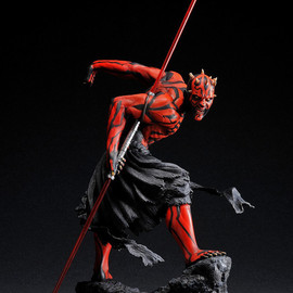 KOTOBUKIYA - STAR WARS ARTFX DARTH MAUL Light Up Statue