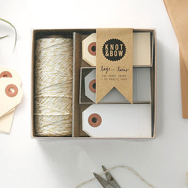 KNOT&BOW - TAG+TWINEBOXES