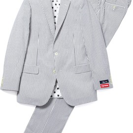 Supreme, Brooks Brothers - Seersucker Fitzgerald Fit Suit