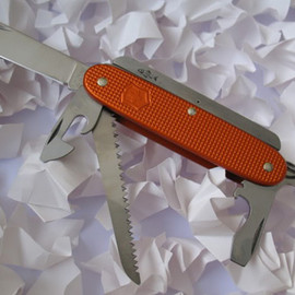 Swiss Bianco, Victorinox - Orange Alox Firesteel Farmer