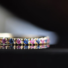 Source - Sapphire Full Eternity Ring