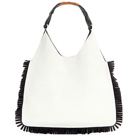 MARNI - Fringe-embellished leather tote