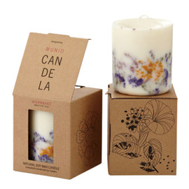 MUNIO CANDELA - Natural Soy Wax Candle Wild Flower