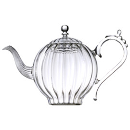 Mariage Frères - Happy Tzar Teapot  hand blown glass