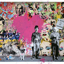Mr. Brainwash - Juxtapose