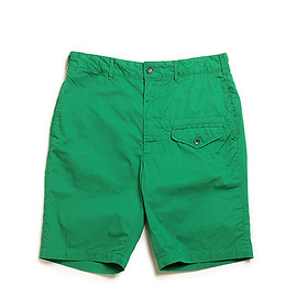 ENGINEERED GARMENTS - Ghurka Short-5oz Twill-Kelly