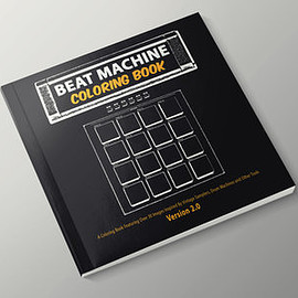 The Content Label - Beat Machine: Coloring Book (Version 2.0)
