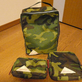 KELTY - KELTY × BEAMS PULS~Camo Series~〝Pouch Set〟