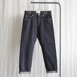 YAECA - Denim Pants - tapared straight / 14oz one wash #indigo