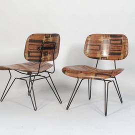 Lensol-Wells - hairpin lounge chairs