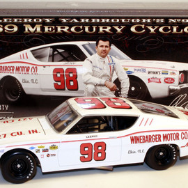 "University of Racing - LeeRoy Yarbrough ""Winebarger Motor Co."" 1969 Mercury"