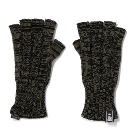 bal - CABLE FINGERLESS GLOVES