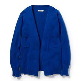 nonnative - DWELLER CARDIGAN ITALIAN COTTON YARN