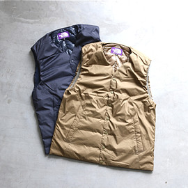 "THE NORTH FACE PURPLE LABEL - THE NORTH FACE PURPLE LABEL  ""Down Vest"""