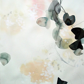Elise Morris - Light Element 3.2, 2012, Acrylic and graphite on paper