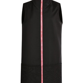 ALEXANDER WANG - FW2014 Sleeveless Dress With Gusset And Quilted Skirt