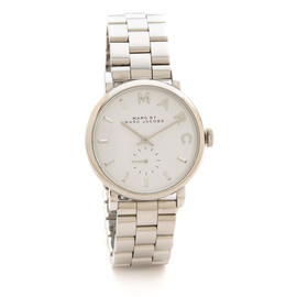 MARC BY MARC JACOBS - Marc by Marc Jacobs Ladies 腕時計 (MBM3242 Silver)