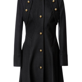 Prabal Gurung - Wool Blend Military Style Coat