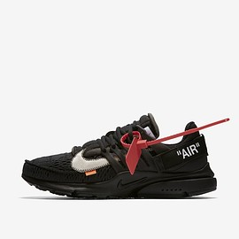 Nike, Off-White - Nike 'The Ten' Presto Off White 'Black & Cone'