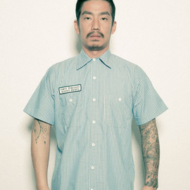 FORTY PERCENTS AGAINST RIGHTS - INSTITUTION/SS WORK SHIRTS