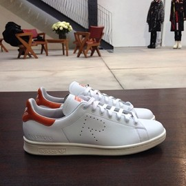 adidas x RAF Simons - Stan Smith (White x Red)