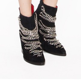 JEFFREY CAMPBELL - Cadena chain booties
