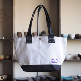 THE NORTH FACE PURPLE LABEL - Tote Bag M #white×black