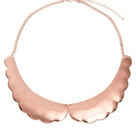 ASOS Collection - Scalloped Collar Necklace