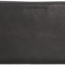 GIVENCHY - Givenchy Perforated Zip Around Wallet in Black for Men