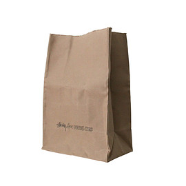 STUSSY Livin' GENERAL STORE - Large Brown Bag