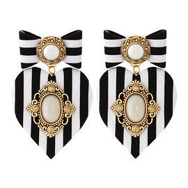 BADACIOUS - Strips Lady Earrings