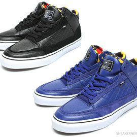 VANS SYNDICATE - Christian Hosoi x Vans Bash Vulc – Black + Royal Blue