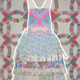 Lu Flux - Image of Tiki Apron Dress