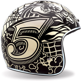 Bell - 2010 custom500 speedsoul The Retro Bell 500 Helmet Series