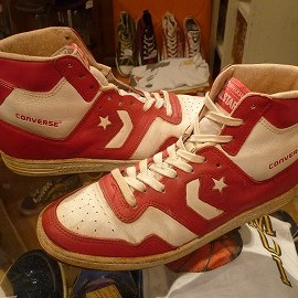 """converse - 「<used>'85 converse STARTECH COLORS red/white""""made in KOREA"""" size:US10(28cm) 30000yen」完売"""