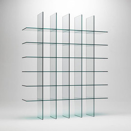 Shiro Kuramata 倉俣史朗 - Glass Shelves No.1, 1976