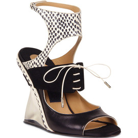 Salvatore Ferragamo - Paz Sandal In Black