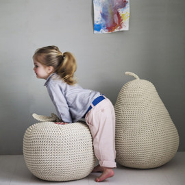 ROWEN & WREN - James' Giant Apple Pouffe