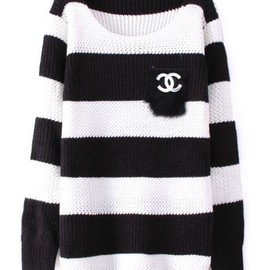 CHANEL - oversized sweater