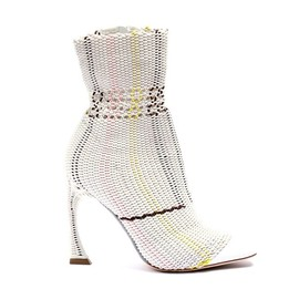 Christian Dior - SS2015 Leather and braided elastic boots