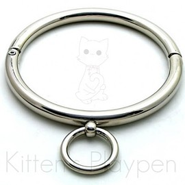 Kitten's Playpen - Lockable Collar (Stainless Steel)