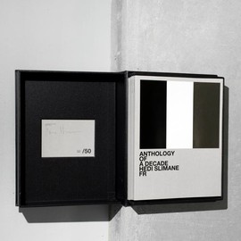 hedi slimane - anthology of a decade/ limited edition
