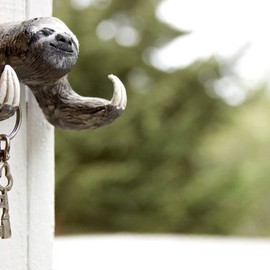 sloth key holder