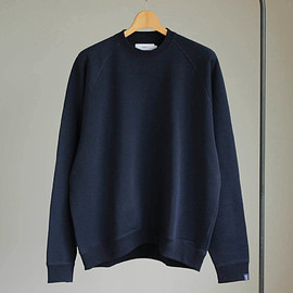 Graphpaper - Raglan Sweat [GP×LOOPWHEELER] #navy