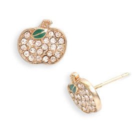 MARC BY MARC JACOBS - Pave Apple Earrings