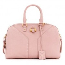 Yves Saint Laurent - YSL Light Pink Muse Bowler Bag